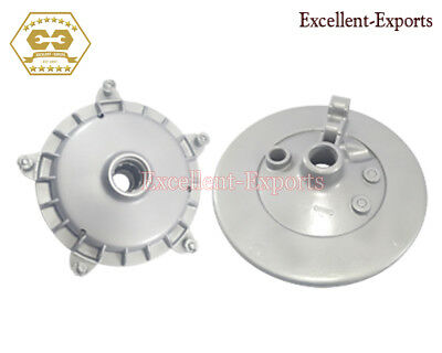 Vespa Px125 Px150 P200 Lml Front Brake Drum And Hub Plate Big New P2259