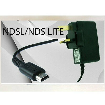 Mains Wall Charger Adapter Power Supply Plug For Nintendo Ds Lite Nds Ndsl Dsl