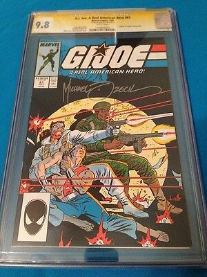 G.I. Joe #61 - Marvel - CGC SS 9.8 NM/MT - Signed by Mike Zeck