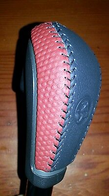 Ve Commodore Leather Auto Gear Knob Redhot New Genuine Omega Ss Sv6 Holden Red