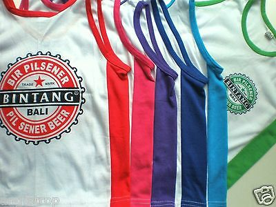 Bali Bintang Beer Singlet Child Childrens Kids Tshirt  Sizes 4 - 5, 6 - 7,  8