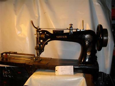 SINGER 7 Class 7-34, Extra Heavy Duty Used to make buffing wheels Sewing Machine