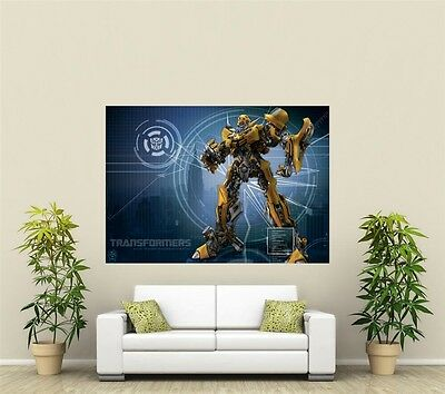 Transformers Bumble Bee Giant 1 Piece  Wall Art Poster VG157