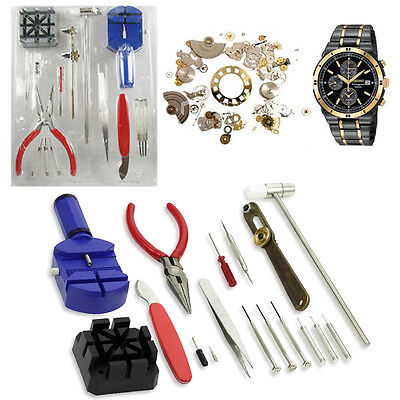 16pcs Watch Repair Tool Kit Professional Watch Strap Back Open Pin Removing Kit