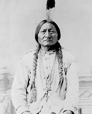 Chief Sitting Bull 8X10 Glossy Photo Picture