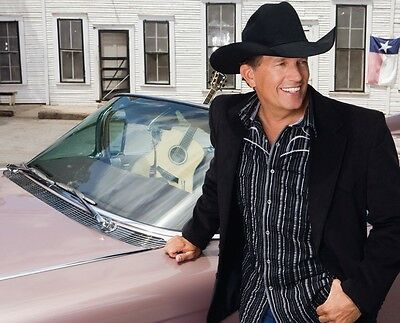 George Strait 8X10 Glossy Photo Picture