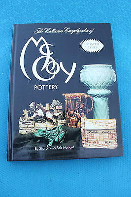 MC COY POTTERY ENCYCLOPEDIA BOOK FIRST EDITION HARD BACK