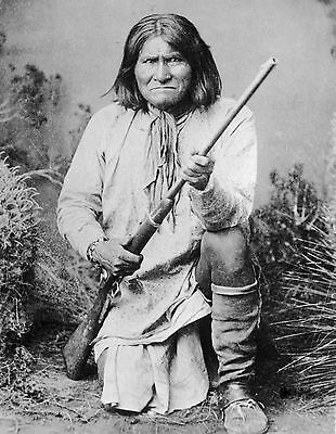 Native American Indian Geronimo 8X10 Glossy Photo Picture