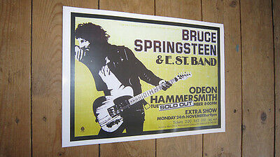 Bruce Springsteen Hammersmith Odeon Repro Tour POSTER  eBay