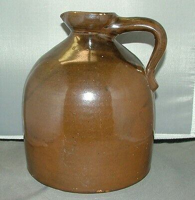 VINTAGE ONE GALLON STONEWARE   MAPLE SYRUP JUG