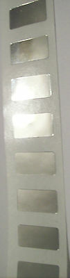 100 Warranty Void Security Tiny Tamper Evident Label Stickers Seals 7.5mm x 15mm