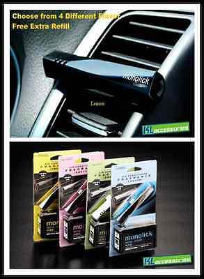 Brand New Car Vent Perfume Air Conditioner Fragrance  Air Freshener Free Refill
