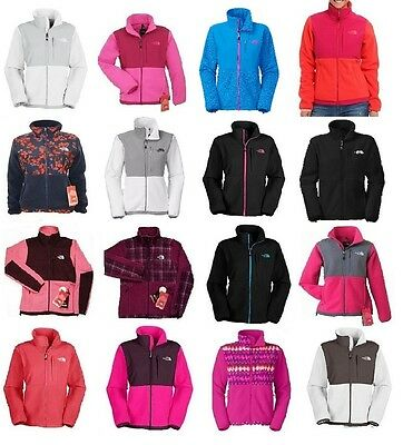 THE NORTH FACE Womens Denali Fleece Jacket Blue / Pink / Purple / White ANLP NEW