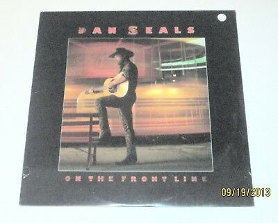 FACTORY SEALED/BRAND NEW DAN SEALS - 'On The Front Line' - (1986 LP) -