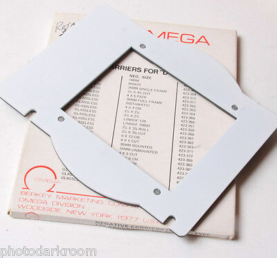 Omega D Series Negative Carrier for 4x5 Cut Sheet Film 423-363 - USED EX++ 690