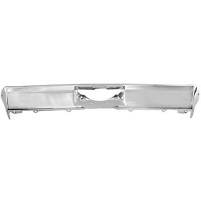 1968-1972 Chevy II Chevrolet Nova New Triple Chrome Plated Rear Bumper