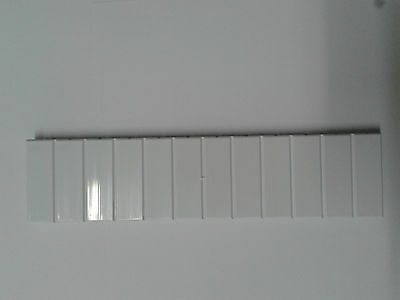 Consumer Unit Distribution Board Blanking Strip 45mm, MCB,RCD,RCBO, 12 blanks