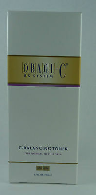 Obagi C Rx System C Balancing Toner Normal To Oily Skin 6.7 Oz New In Box