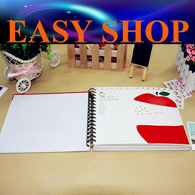 64 Pages DIY Kids Child Baby Infant Photo Album Craft Scrapbooking Gift Memory