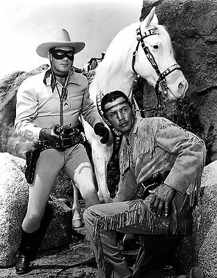 Lone Ranger And Tonto 8X10 Glossy Photo Picture