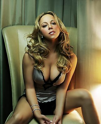 Mariah Carey 8X10 Glossy Photo Picture Image #4
