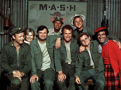 Mash Cast 8X10 Glossy Photo Picture