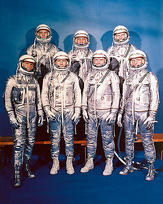 Mercury 7 Astronauts Nasa  8X10 Glossy Photo Picture Image #2