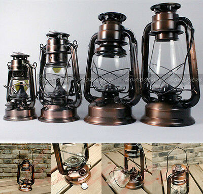Vintage Hurricane Lantern Country Farmer's kerosene Oil Lamp-6 size available