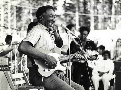 Muddy Waters 8X10 Glossy Photo Picture