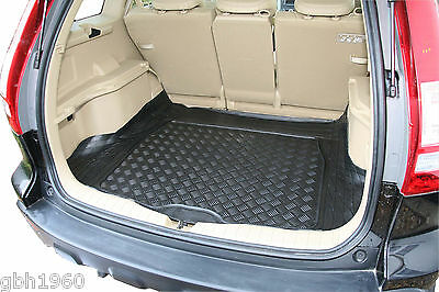 Honda CR-V CRV 2007 +  heavy duty anti slip black rubber boot mat load liner