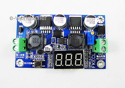 Automatically step-up step-down module Voltage power Module 4.5-32V to 1.25-37V