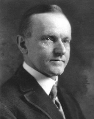 Us President Calvin Coolidge 8X10 Glossy Photo Picture