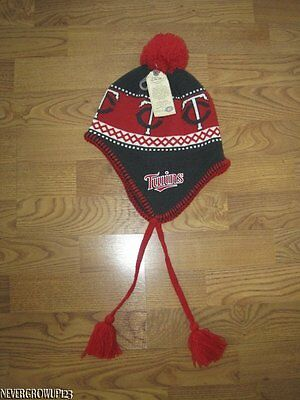 reputable site ae172 25b4e ... Winter Freeze Blue Red Beanie Pom  A27.  9.00 Buy It Now 5d 17h. See  Details. Minnesota Twins Scandinavian-Style Adult Knit Stocking Hat~Beanie ~Cap~Nwt