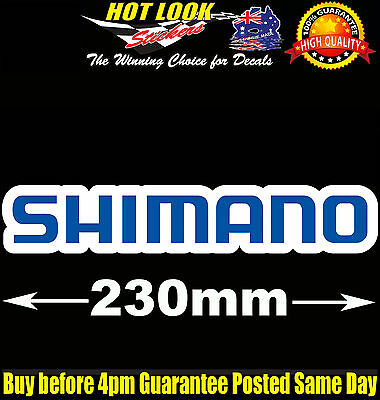 SHIMANO Sticker Rod Reel Vinyl Decal for boat Fishing dinghy tackle Box