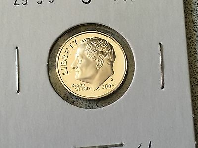 2005 S Proof 90% Silver Roosevelt Dime
