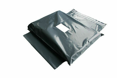 Strong Grey Mailing & Packaging Plastic Postal Bags Mixed Sizes Seal Envelopes