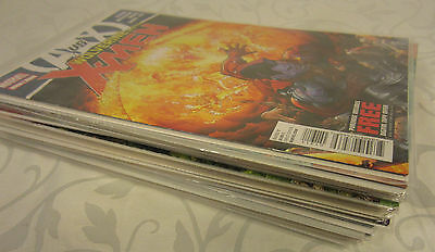 UNCANNY X-MEN WOLVERINE AND THE 2012 COMIC BOOK LOT OF 21  1 2 3 4 5 6 7 8 9 10