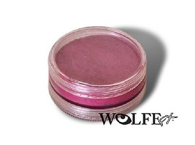 Wolfe Metallix 45g Pot Metallic Fuschia Professional Face and Body Paint Make up