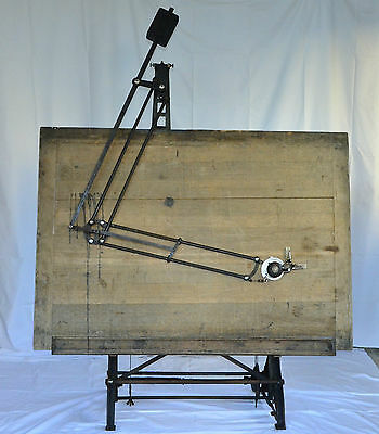 Vintage Antique Drafting Table Circa 1900 Nestler (Germany)
