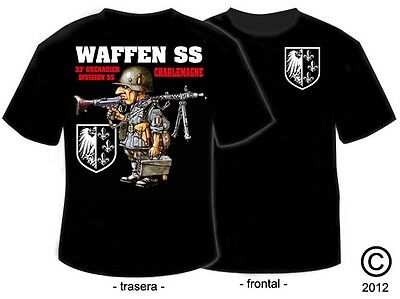 Camisetas Militares: 33º Division Panzer Ss - Charlemagne