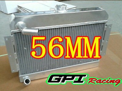 56Mm Aluminum Alloy Radiator Mgb Gt/roadster Top-Fill 1968-1975 1969