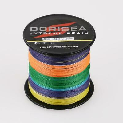 Agepoch SuperStrong Dyneema Spectra Braid Sea Fishing Line100M-1000M Multi color