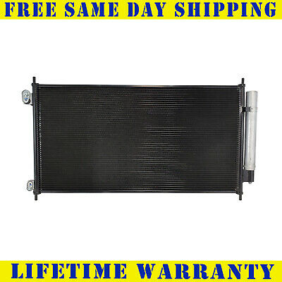 3669 Ac A/c Condenser For Honda Fits Accord Crosstour 2.4 3.5 L4 4Cyl V6 6Cyl