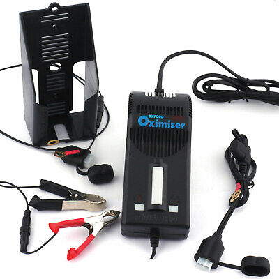 YQ 50 R GP1 Oxford Oximiser 12v Motorcycle Battery Charger