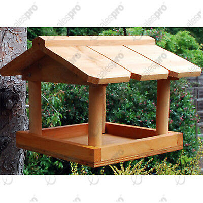 Hanging wooden bird table from kingfisher - Big money off deals for 2, 3 or 4.