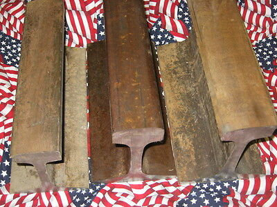 RAILROAD TRACK ANVIL:  12 Inches, 36 Pounds, 6 1/2 Inch Height