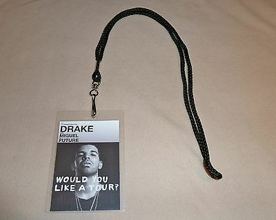 Drake Would You Like A Tour Vip All Access Backstage Pass & Lanyard Meet & Greet