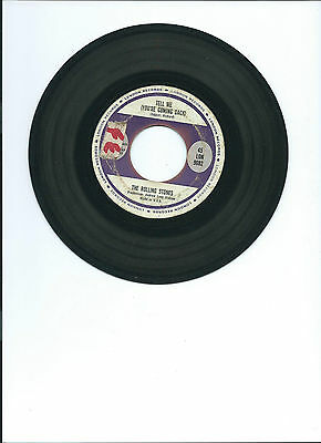 """1964 THE ROLLING STONES RARE """"TELL ME"""", """"I JUST WANT TO MAKE LOVE TO YOU"""" 45 7"""""""
