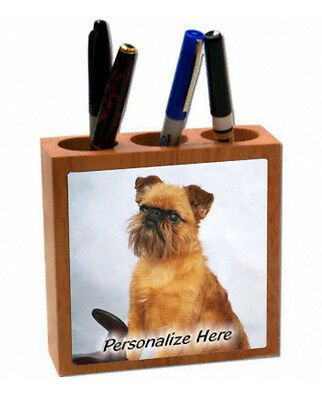 Brussels Griffon  ( 4 )   Personalized  Pencil and Pen Holder