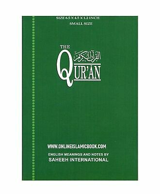 THE QURAN ARABIC Text With Corresponding English Meaning Saheeh  International